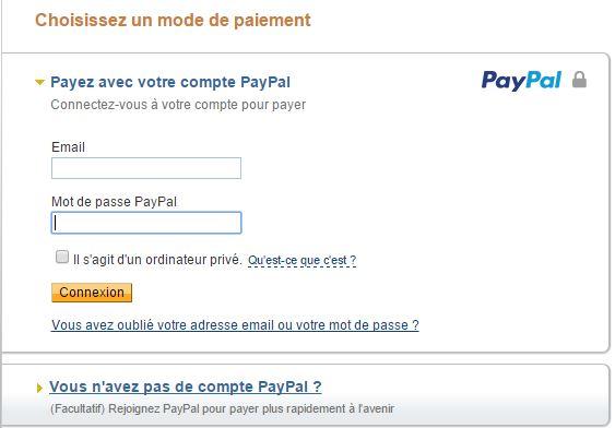exemple paiement adhesion en ligne
